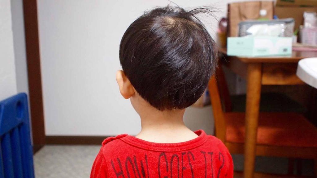 ハラニシカット,子供,髪型