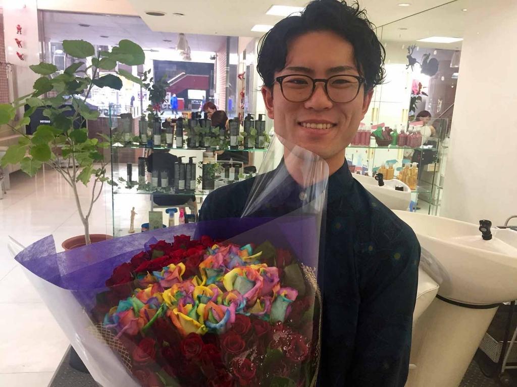 岩田卓馬,美容師,名古屋